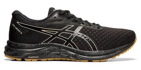 Asics Gel Excite 6 Winterized утепленные кроссовки для бега мужские черные