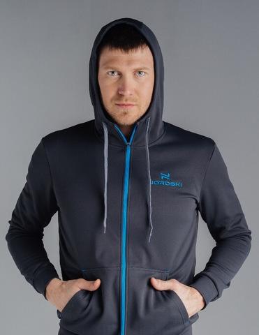 Nordski Hood Base спортивный костюм мужской grey-black