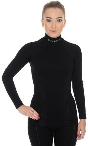 Термобелье Brubeck Wool Merino рубашка женская черная