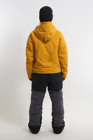 Cool Zone CODE сноубордический комбинезон мужской горчичный-асфальт