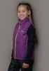 Nordski Kids Motion теплый жилет для девочек purple - 2