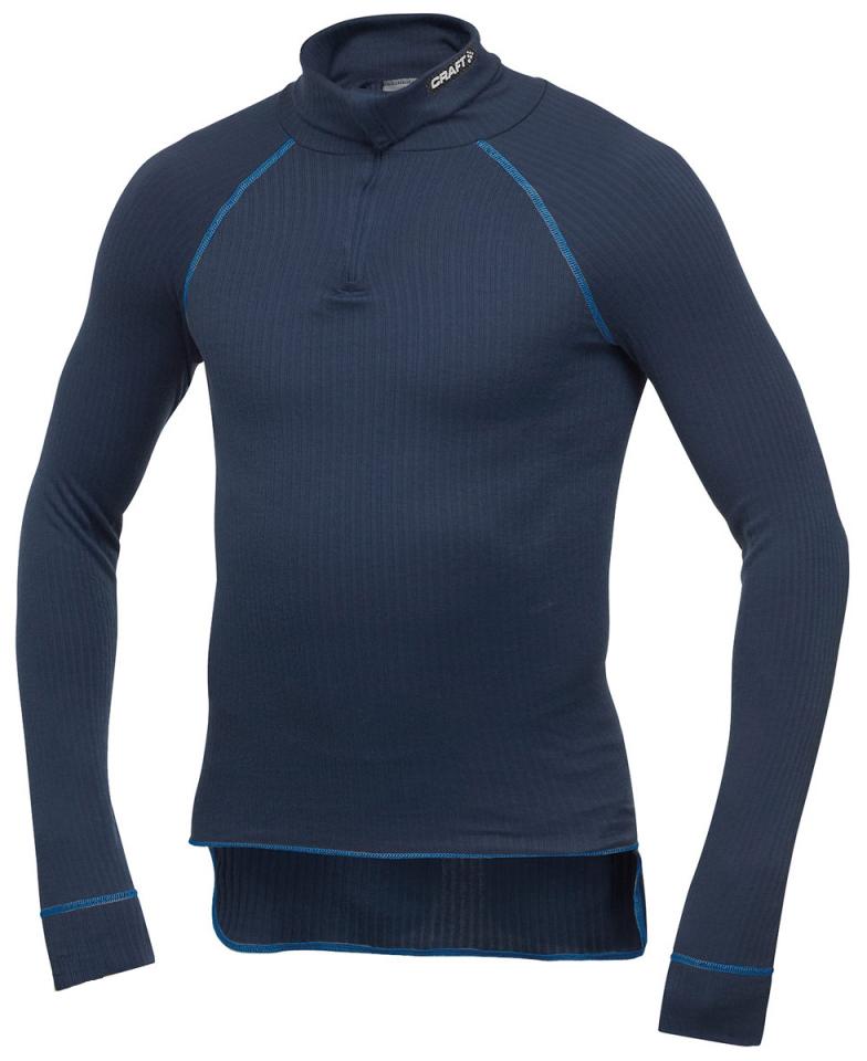 Термобелье Рубашка Craft Active Zip мужская dark-blue