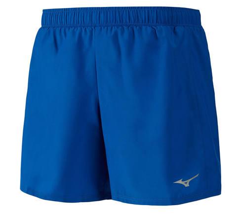 Mizuno Core Square 5.5 шорты для бега мужские синие