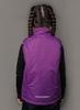 Nordski Kids Motion теплый жилет для девочек purple - 3