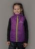 Nordski Kids Motion теплый жилет для девочек purple - 1