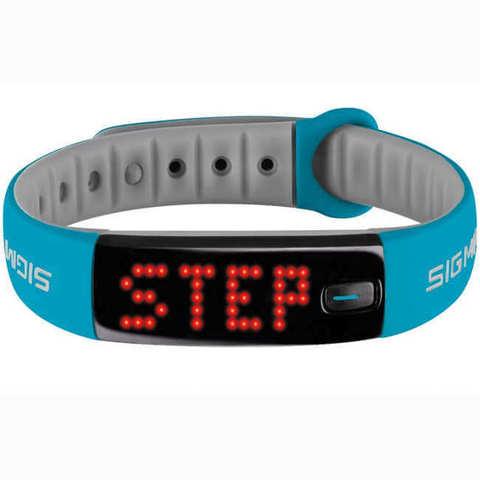 Sigma Sport Activo фитнес-трекер blue