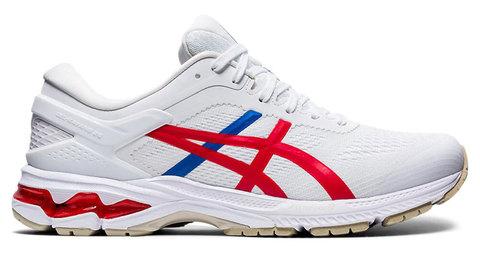 Asics Gel Kayano 26 кроссовки для бега мужские белые