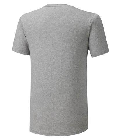 Mizuno Rb Logo Tee беговая футболка мужская серая
