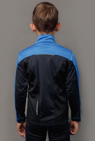 Nordski Jr Active лыжная куртка детская синяя-черная