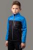 Nordski Jr Active лыжная куртка детская синяя-черная - 1