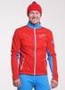 Nordski National Premium разминочный лыжный костюм мужской Red-Black - 2