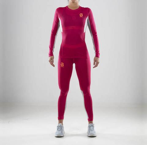 Bjorn Daehlie Trainingwool комплект термобелья женский розовый
