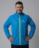 Nordski Light утепленная ветрозащитная куртка мужская blue - 1