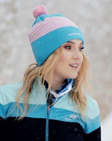 Nordski Line лыжная шапка azure