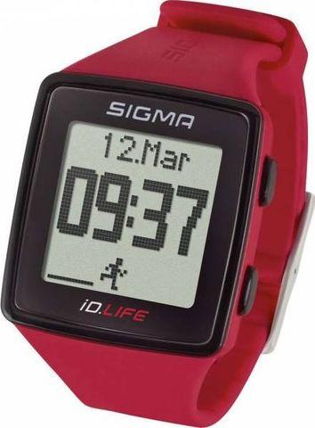 Sigma ID.Life спортивные часы rouge