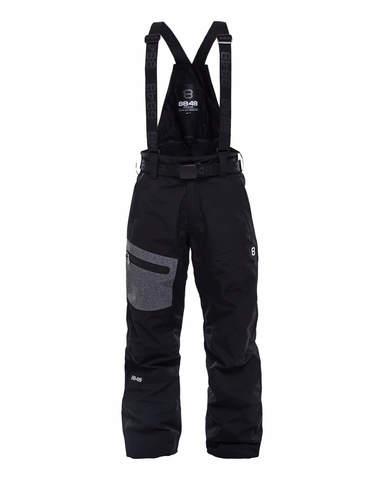 Горнолыжные брюки детские 8848 Altitude Defender черные