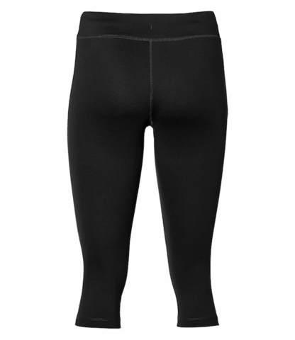 Asics Silver Knee Tight тайтсы беговые женские черные