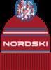 Nordski Stripe RUS теплая шапка red - 4