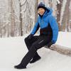 Nordski Montana теплый лыжный костюм мужской синий-черный - 1