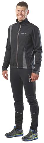 Nordski Active мужской разминочный костюм grey