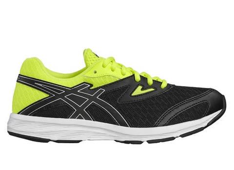 Asics Amplica Gs кроссовки для бега подростковые желтые-черные