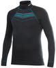 Термобелье Рубашка Craft Active Zip мужская black print - 1