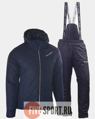 Nordski Active теплый лыжный костюм мужской navy-black