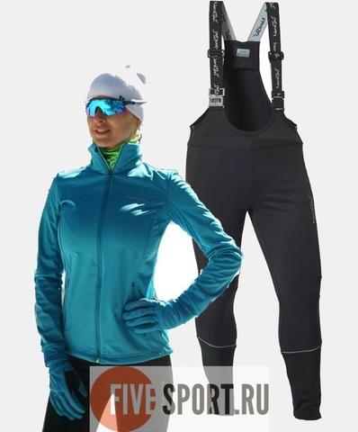 Nordski Motion Active разминочный лыжный костюм женский Breeze
