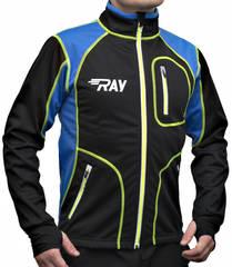RAY Star WS мужская разминочная лыжная куртка balck-blue