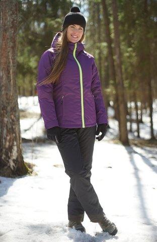 Nordski Motion детский утепленный костюм purple-black