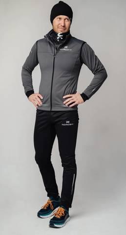Nordski Pro лыжный костюм мужской graphite