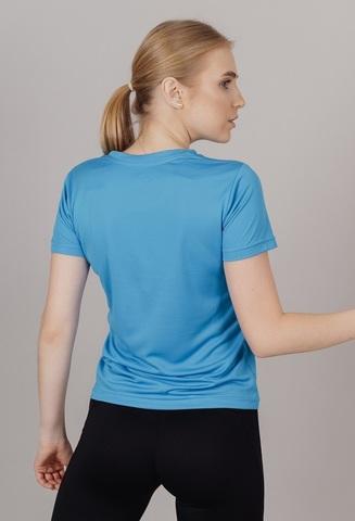 Nordski Run футболка для бега женская blue