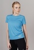 Nordski Run футболка для бега женская blue - 1