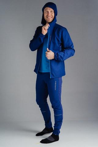 Nordski Run Elite костюм для бега мужской black-navy