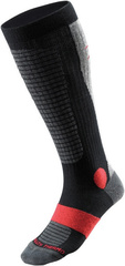 Носки Mizuno Heavy Ski Socks унисекс (black/red)