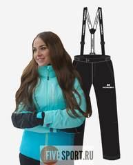Nordski Montana Premium утепленный костюм женский sky-blue