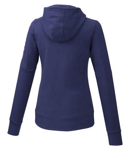 Mizuno Heritage Zip Hoody толстовка женская фиолетовая
