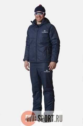 Nordski Motion теплый лыжный костюм мужской dark-navy