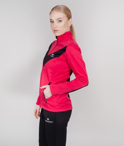 Nordski Base Active разминочный костюм женский pink