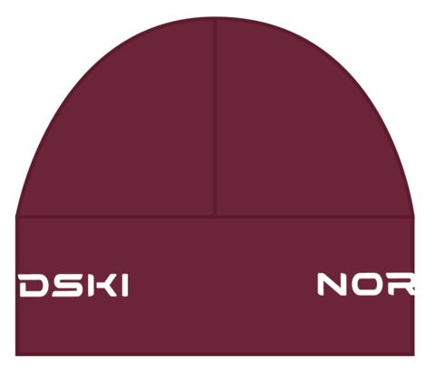 Nordski Warm шапка wine