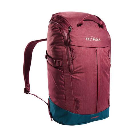 Tatonka City Pack 22 городской рюкзак bordeaux red