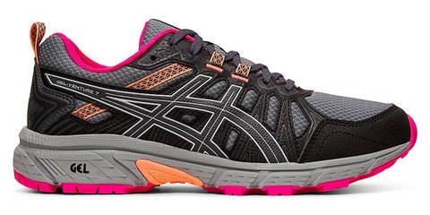 Asics Gel Venture 7 кроссовки-внедорожники для бега женские черные
