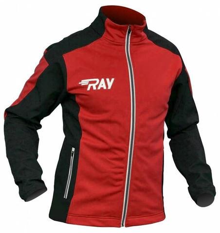 RAY Pro Race WS мужская разминочная лыжная куртка red