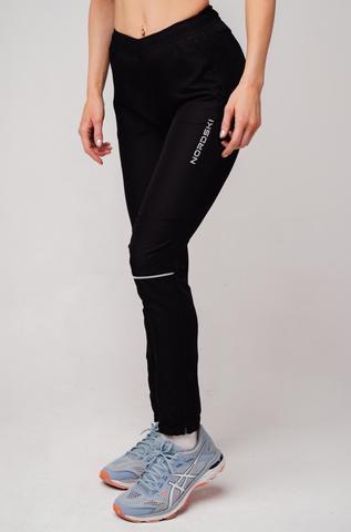 Nordski Run брюки для бега женские Black