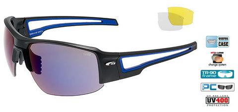 Goggle Zender спортивные очки black-blue