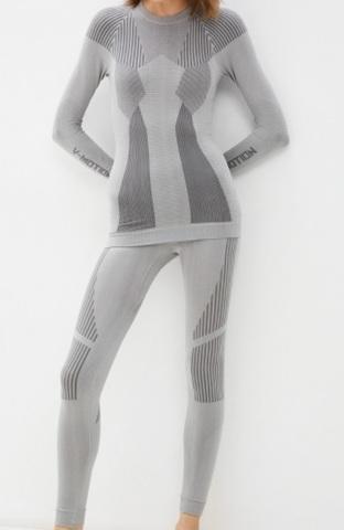 V-MOTION F-10 женское термобелье комплект светло-серый