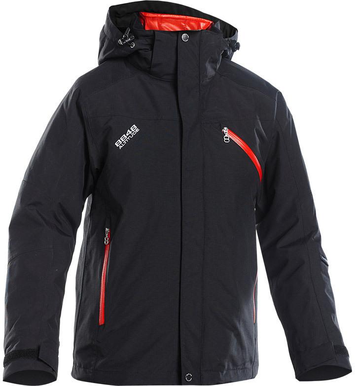 Горнолыжная Куртка 8848 Altitude Troy JR Zip-In Jacket Black-Red