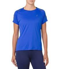 Asics Icon Ss Top футболка для бега женская синяя