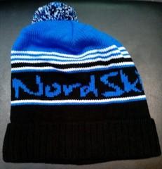 Nordski Stripe лыжная шапка black-blue