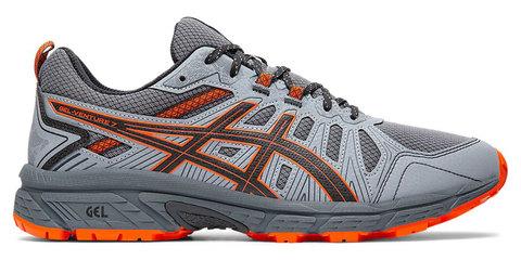 Asics Gel Venture 7 кроссовки-внедорожники для бега мужские серые-оранжевые